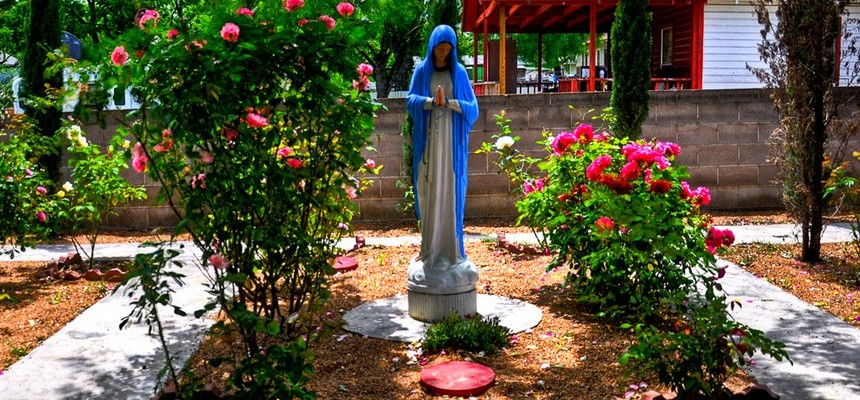 Honor Mary with a Garden