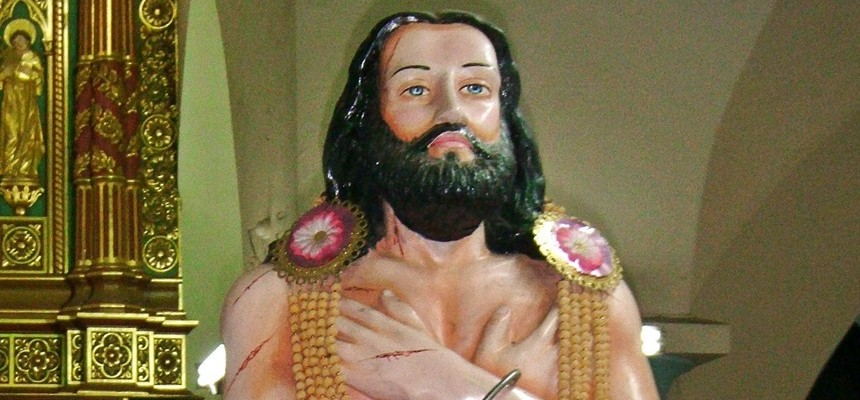 His name was Devasahayam, and he was the First Indian Martyr. His Canonization has been approved. Date TBA