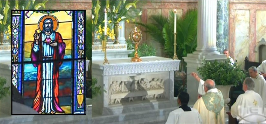 Bishop DiMarzio Consecrates Brooklyn to the Sacred Heart