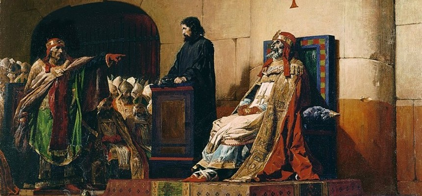 POPE BONIFACE VI AND POPE STEPHEN VI