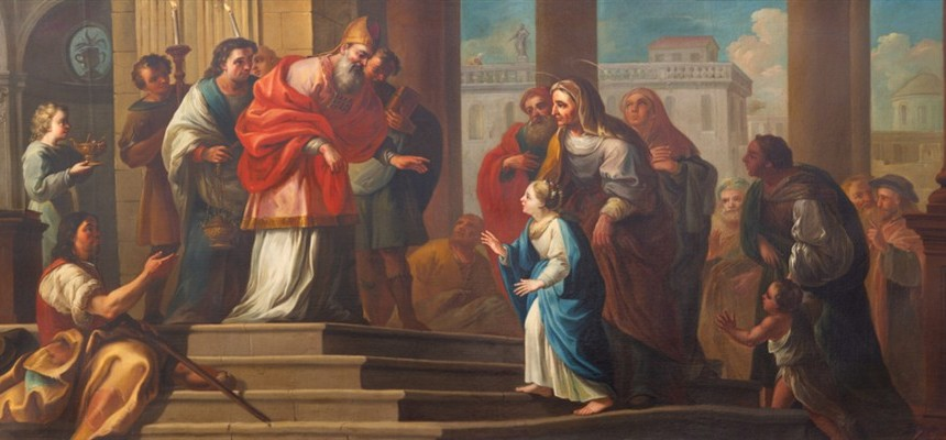 Joining the Divine Dance: Memorial of The Presentation of Mary