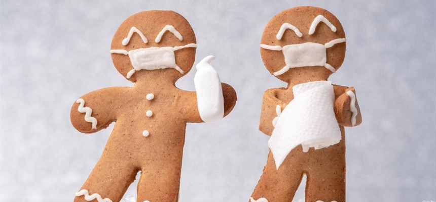 Socially Distanced Cookies