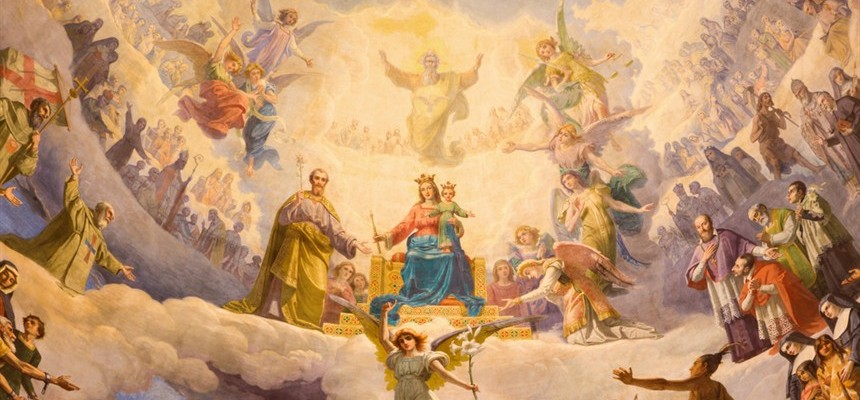 Connecting the Dots: Mary Queen of Heaven and Earth