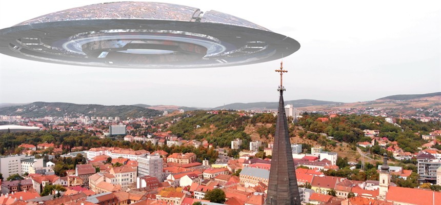 The New Jerusalem: One Big Flying Saucer?