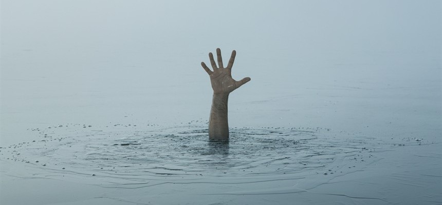 Don't wait until you are sinking to reach for Jesus