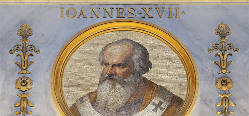 Pope John XVII: The 140TH Pope