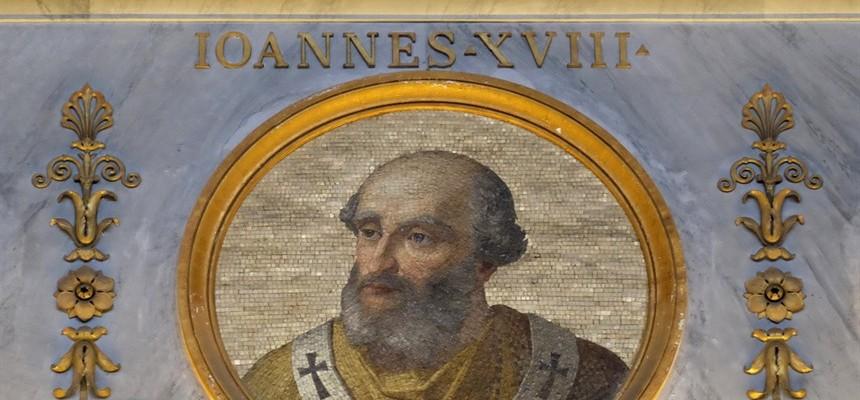Pope John XVII: The Second Abdication