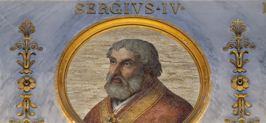 Pope Sergius IV: The Last of the Crescenti Puppets
