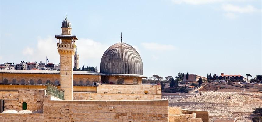 Jerusalem, the focus of worldly destruction