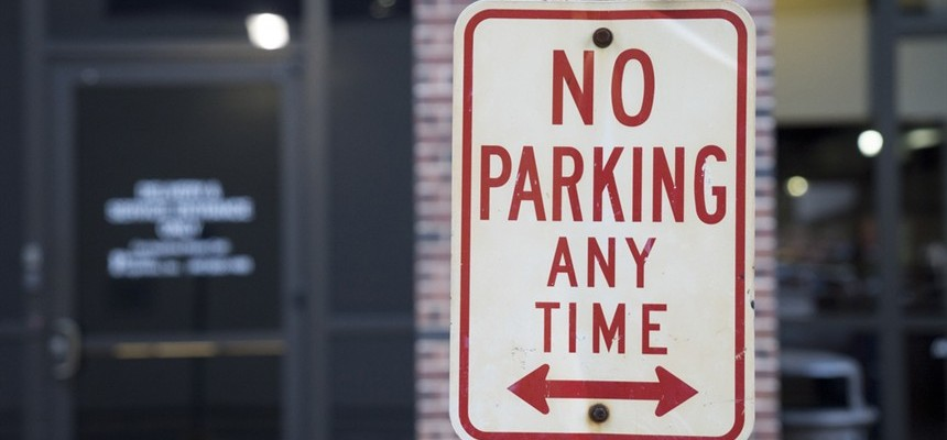 No Parking: A reminder from the streets of Manila