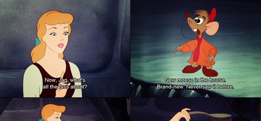 The Secret of Friendship, as Shown by Cinderella