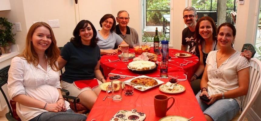 Sunday Dinner Reveals Graces of Family Crosses