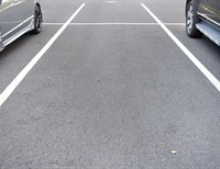 Thank God for Everything. Even Parking Spaces.
