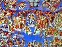 Michelangelo and Metanoia. Conversion in Rome.