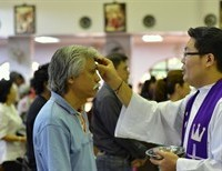 Ash Wednesday Reflection--recieving Christ's mark, ashes and penance